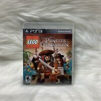 LEGO Pirates of the Caribbean: The Video Game (Sony PlayStation 3, 2011) CIB