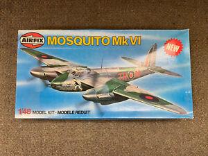 * AIRFIX 1/48 SCALE MOSQUITO MK VI PLASTIC MODEL KIT#07100-0 *ST