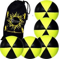 Jeux et activités de plein air jonglages jaunes balles