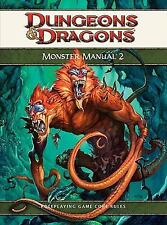 Dungeons And Dragons Monster Manual 2 Hardcover.