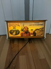 """30"""" Olympia Beer Lighted Sign Fishing Fisherman Oly"""