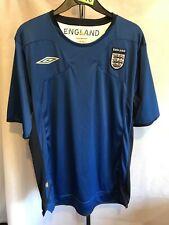 Umbro England Azul Camisa De Entrenamiento Fútbol Para Hombre Talla Grande G216