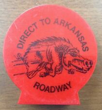"Roadway Express ""Direct to Arkansas"" plastic bank Mid 1960's Trucking, Rare item"