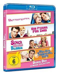 Doris Day - 4 Movie Collection [Blu Ray] Rock Hudson - Bettgeflüster u.a