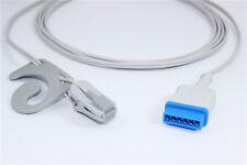 4PCS GE adult ear clip spo2 sensor, Masimo SpO2 tech, 11pins, P3310G