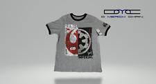 "New Disney Parks Authentic Star Wars ""Rebel Imperial Logo"" Kids T-shirt"