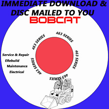 Bobcat 463 Skid Steer Loader Service Manual 6901812 3/2006 Serials #s Listed  CD