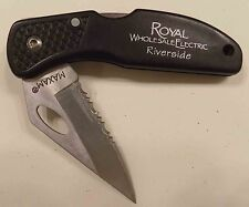 Maxam Single Locking Blade Folding Knife w/Belt Clip - Used - FREE SHIPPING