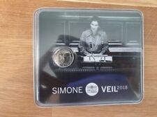 2 Euros Commémorative BU France 2018 Simone Veil - Coincard Officielle