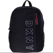 DKNY Black Canvas Backpack BNWT