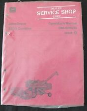 ORIGINAL 1970 1971 JOHN DEERE 3300 COMBINE OPERATORS MANUAL SEALED MINT SHAPE