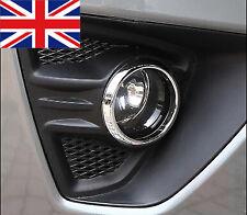 Par Ford Focus ST Mk2.5 2009-2011 Bisel Cromado Envolvente De Luz Luz Antiniebla Delantera