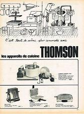 PUBLICITE ADVERTISING  1965   THOMSON   les appareils de cuisine par SINE