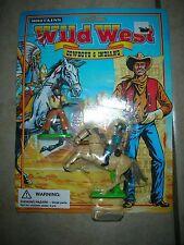 Britains Wild West Cowboy & Indians Toy Figure Set - #7526  (B 15)