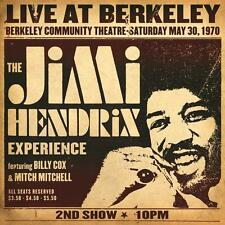 JIMI HENDRIX LIVE AT BERKELEY DOPPIO VINILE LP GATEFOLD DELUXE NUOVO SIGILLATO