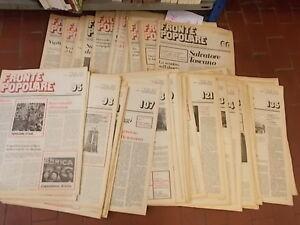FRONTE POPOLARE RIVISTA POLITICA - ANNO 1976 - 34 NUMERI