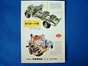 VINTAGE AD GALLERY - POST CARD - LAND ROVER SERIES II SWB