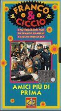 FRANCO E CICCIO - AMICI PIU' DI PRIMA (1976)  VHS