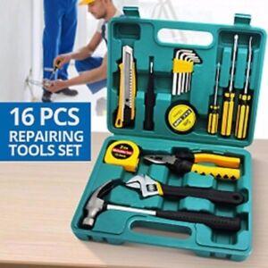 KaiShen TOOLS 16 Pcs Professional Hardware Home Repair Accessory Tools Set