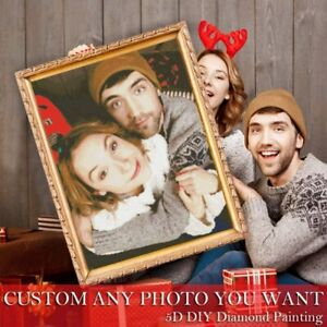 Personalized Photo Custom Diamond Painting Kit 5D Full Round/Square Drill Gifts