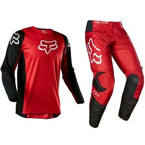 2020 FOX RACING 180 MOTOCROSS MX BIKE KIT PANTS JERSEY - PRIX FLAME RED