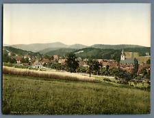 Bad Sachsa. PZ vintage photochromie, Deutschland photochromie, vintage photoch