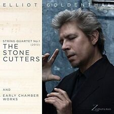 NEW!! TOM CHIU - Elliot Goldenthal: String Quartet No.1 Stone Cutters CD