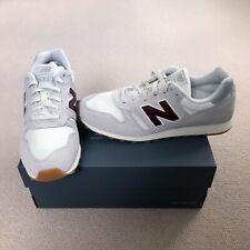 BNIB New Balance 373 Trainers - Size UK 10 / 44.5 EUR - Grey & Burgundy shoes