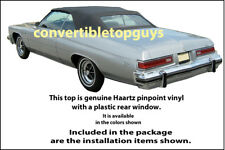 BUICK LESABRE AND CENTURION CONVERTIBLE TOP-DO IT YOURSELF KIT 1971-1976