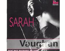 CD SARAH VAUGHAN the jazz biography EX+  (B0556)