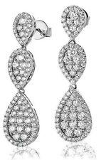 Unbranded White Gold 18 Carat Fine Earrings