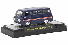 M2 Machines WILD CARDS 1965 FORD FALCON CLUB WAGON MINT IN BOX
