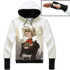 Game NieR:Automata YoRHa NO.2 Pullover Jacket Cosplay Hoodie Unisex Coat#ND-G86