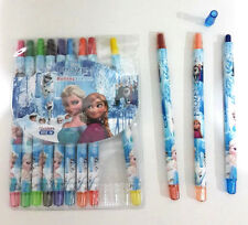 24% off! 12 pcs DISNEY FROZEN TWIST-UP RETRACTABLE ROLLING CRAYONS IN PACK!