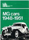 MG MIDGET PA PB TC TD SERIES & Y-TYPE 1.25 LITRE 1948-51 PERIOD ROAD TESTS BOOK