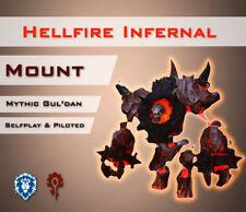 [EU] Fiendish Hellfire Mount Guldan Mythic Dämonischer Höllenfeuerkern WoW