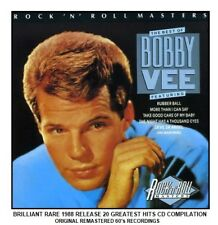 Bobby Vee - Very Best Ultimate Essential 20 Greatest Hits Collection CD - 60's