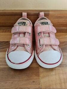 Baby Girls Converse Pumps Infant Size 7