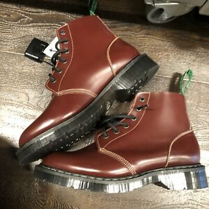 OX BLOOD  SOLOVAIR Uk BOOTS SIZE 6 New