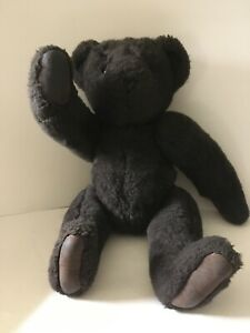The Vermont Teddy Bear Company Chocolate Brown Bear Jointed 16""