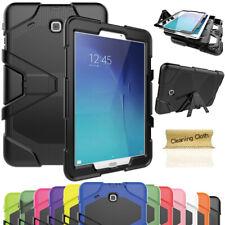 Tablet Armor Case + Screen Protector For Samsung Tab 3 4 A E S2 7.0 8.0 9.7 10.1