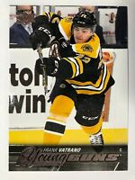2015-16 UD Young Guns Rookie Frank Vatrano