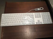 New Apple Wired USB Extended Keyboard A1243 FREE SHIPPING