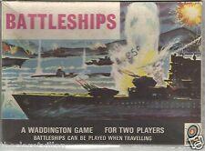 Waddington Battleships Travelling Game 2 Players 1963