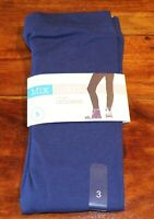 MIX Brand Girls Blue Solid Legging Pants Size 3 BNWT