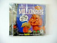 SEGA DREAMCAST Who Wants to Beat Up a Millionaire Game NEW SEALED Read below