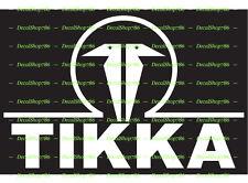 Tikka Firearms - Outdoor Sports / Hunting - Vinyl Die-Cut Peel N' Stick Decal