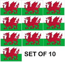 More details for 10x wales large dragon flag 5x3ft welsh rugby 6 nations football st davids day