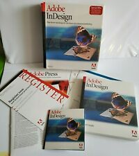 Adobe InDesign 1.0 Full Version for Windows with CD & Serial Number