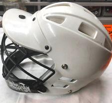 Cascade C2 Lacrosse Helmet Lax White Adult L Xl - Good Condition